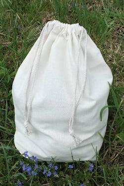 Český západ Bavlněný pytlík na pečivo (L) - nahradí stovky jednorázových sáčků