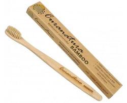Curanatura Zubní kartáček Bamboo (extra soft) - štětinky na bázi bambusové celulózy
