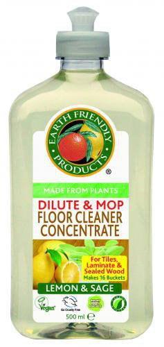 Earth Friendly Čistič na podlahy - koncentrát (500 ml)