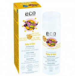 Eco Cosmetics Baby Dětský opalovací krém SPF 50+ BIO (50 ml) - AKCE