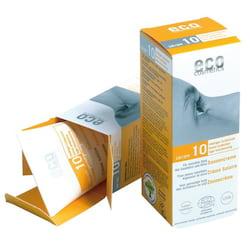 Eco Cosmetics Opalovací krém SPF 10 BIO (75 ml) - 100% přírodní, s minerálními filtry