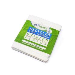 EcoForce Univerzální tkané hadříky (2 ks) - jemné a vysoce savé, z recyklu
