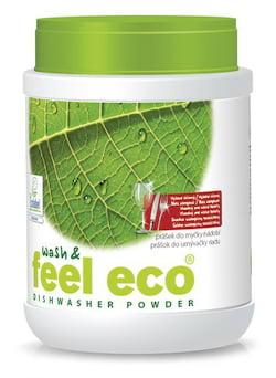 Feel Eco Prášek do myčky (800 g) - pro až 40 mycích cyklů