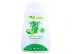 Feel Eco Sprchový gel - limetka a bambus (300 ml) - s osvěžující vůní limetky