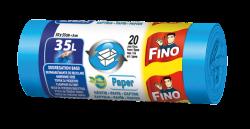 Fino Pytle na odpad - na papír - 35 l (20 ks) - z recyklovaného plastu