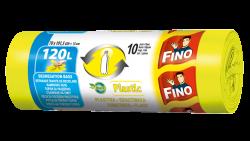 Fino Pytle na odpad - na plast - 120 l (10 ks) - z recyklovaného plastu