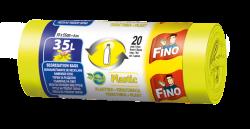 Fino Pytle na odpad - na plast - 35 l (20 ks) - z recyklovaného plastu