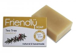 Friendly Soap Přírodní mýdlo tea tree (95 g) - pro mastnou pleť a akné