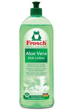 Frosch Prostředek na mytí nádobí  - aloe vera (750 ml) - pro zářivě čisté nádobí