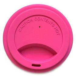 Jack n' Jill Víčko na kelímek - růžové - ze silikonu v potravinářské kvalitě