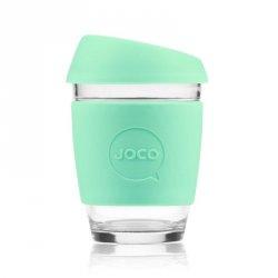 Jococup (340 ml) - světle zelený - z odolného borosilikátového skla