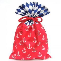 La Pytla Dárkový pytlík - Námořník (M) - ručně šitý na moravě