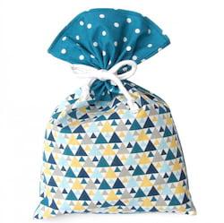 La Pytla Dárkový pytlík - Trojúhelník (L) - ručně šitý na moravě