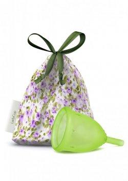 LadyCup Menstruační kalíšek - zelený - velký (L)