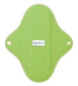 LadyPad Látková vložka (L) - mátová - z bio bambusu a bio bavlny