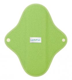 LadyPad Látková vložka (M) - mátová - z bio bambusu a bio bavlny