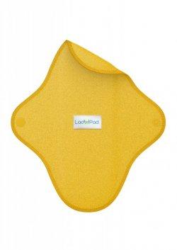 LadyPad Látková vložka (S) - slunečnicová - z bio bambusu a bio bavlny