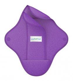 LadyPad Látková vložka s vkládací vložkou (L) - levandulová