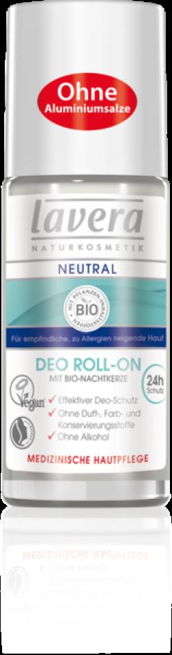 Lavera Deodorant roll-on Neutral 24h BIO (50 ml) - i pro tu nejcitlivější pokožku