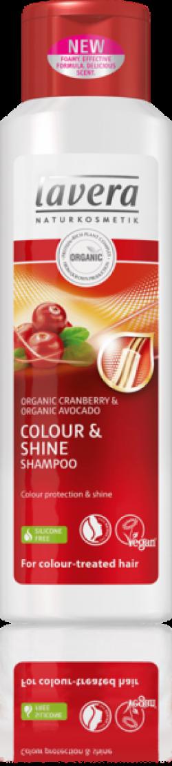 Lavera Šampon Colour & Shine pro barvené vlasy BIO (250 ml) - AKCE