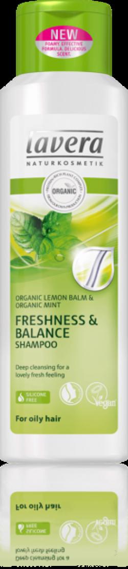 Lavera Šampon pro svěžest a rovnováhu s citronem BIO (250 ml) - AKCE