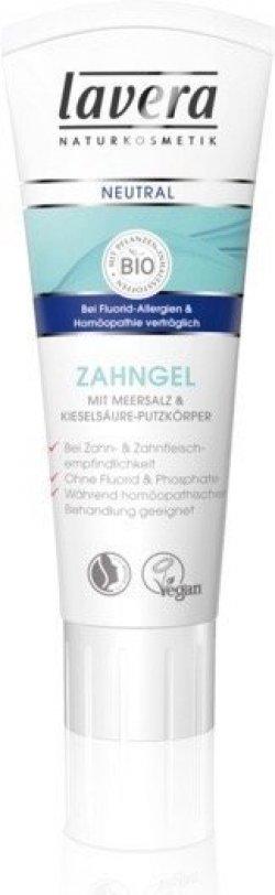 Lavera Zubní pasta s mořskou solí Neutral (75 ml) - vhodná i pro citlivé zuby a dásně