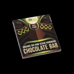 Lifefood Čokoláda 80 % kakaa RAW & BIO (35 g) - ani hořká, ani sladká - tak akorát