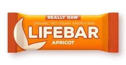 Lifefood Lifebar - meruňková RAW/BIO (47 g) - lahodná chuť