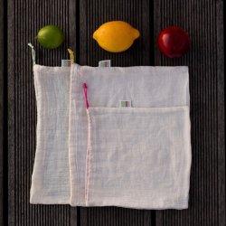 Love Your Home Sada sáčků na ovoce, zeleninu a pečivo (3 ks) - AKCE
