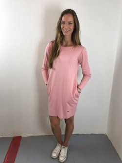 Meera Design Božské šaty Afrodité - růžové (M/L) - s dlouhým rukávem