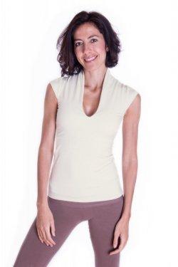 Meera Design Japonské tričko Inari - natural (L) - 100% sexy, 100% ženské