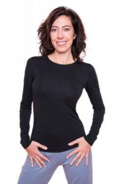 Meera Design Nadčasové triko HATHOR - černé (XL) - základní kousek do šatníku