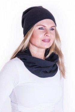 Meera Design Šmrncovní čepice Lilith - černá - pro něžné ženy i rebelky