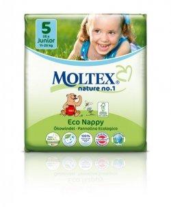 Moltex Ekoplenky Junior 5 (11 - 25 kg) (26 ks) - ze 40-45 % rozložitelné