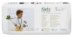 Naty Ekoplenky Junior 5 (11 - 25 kg) Economy pack (42 ks) - z 55-60 % rozložitelné