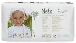 Naty Ekoplenky Maxi 4 (7 - 18 kg) Economy pack (46 ks) - z 55-60 % rozložitelné