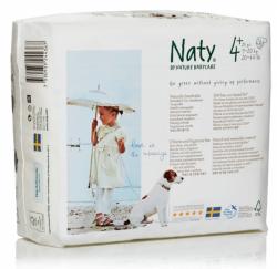 Naty Ekoplenky Maxi+ 4+ (9 - 20 kg) (25 ks) - z 55-60 % rozložitelné