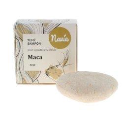 Navia Tuhý šampon Maca XXL (50 g) - vhodný při vypadávání vlasů