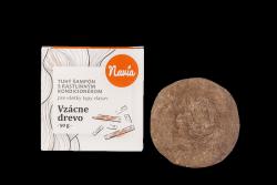 Navia Tuhý šampon s kondicionérem pro tmavé vl. Vzácné dřevo XXL (50 g)
