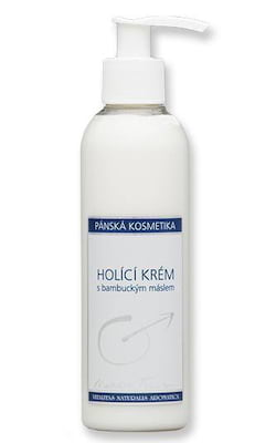 Nobilis Tilia Holicí krém (200 ml) - s bambuckým máslem, certifikát cpk