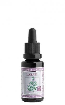 Nobilis Tilia Masážní olej na hráz Labael BIO (20 ml) - pro dostatečné uvolnění tkáně