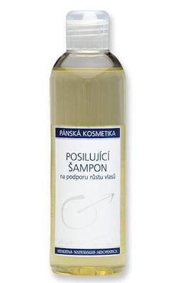 Nobilis Tilia Posilující šampon pro muže (200 ml) - podporuje růst vlasů