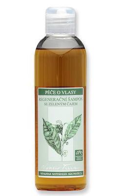 Nobilis Tilia Regenerační šampon (200 ml) - se zeleným čajem, cpk