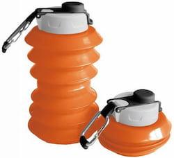 Ohyo Skládací lahev (1 l) - oranžová - nyní ještě větší