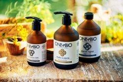OnlyBio Hypoalergenní tekuté mýdlo (250 ml) - ve skleněné lahvi