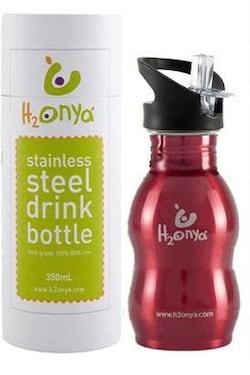 Onya H2Onya (0,35 l) - červená - skvělá pro děti
