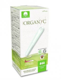 Organyc Tampony s aplikátorem Super (14 ks) - AKCE
