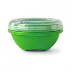 Preserve Svačinový box (560 ml) - zelený - ze 100% recyklovaného plastu
