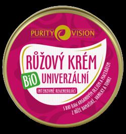 Purity Vision Růžový krém univerzální BIO (70 ml) - v praktickém balení
