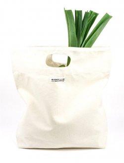 Re-Sack Plátěná nákupní taška s vykrojenými uchy - velmi pevná, z bio bavlny